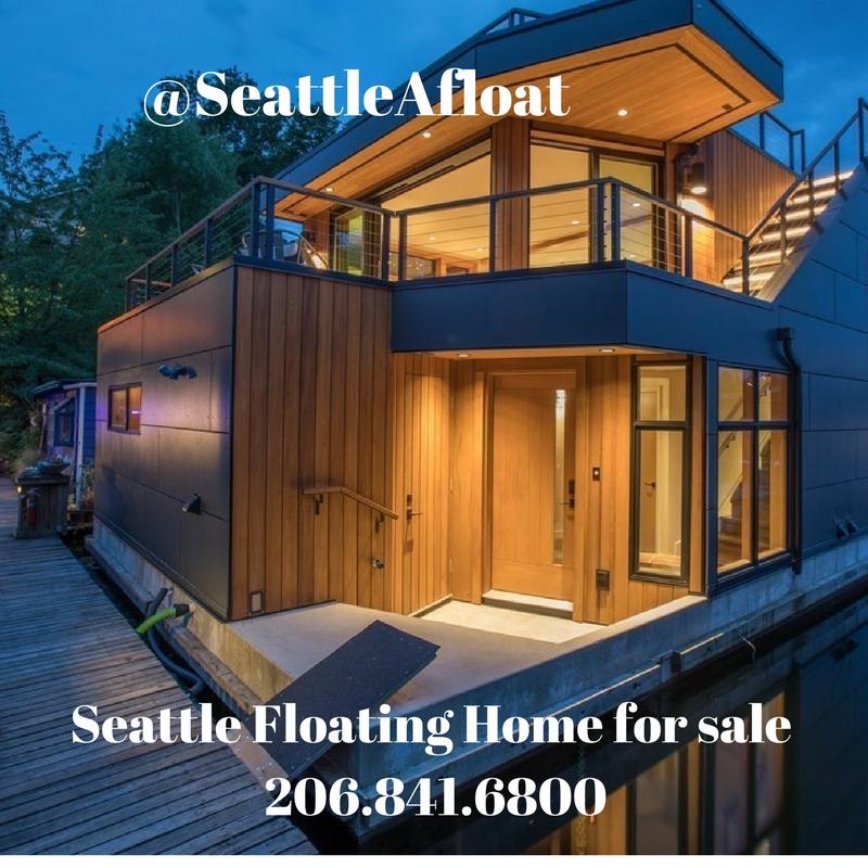 lake union floating homes