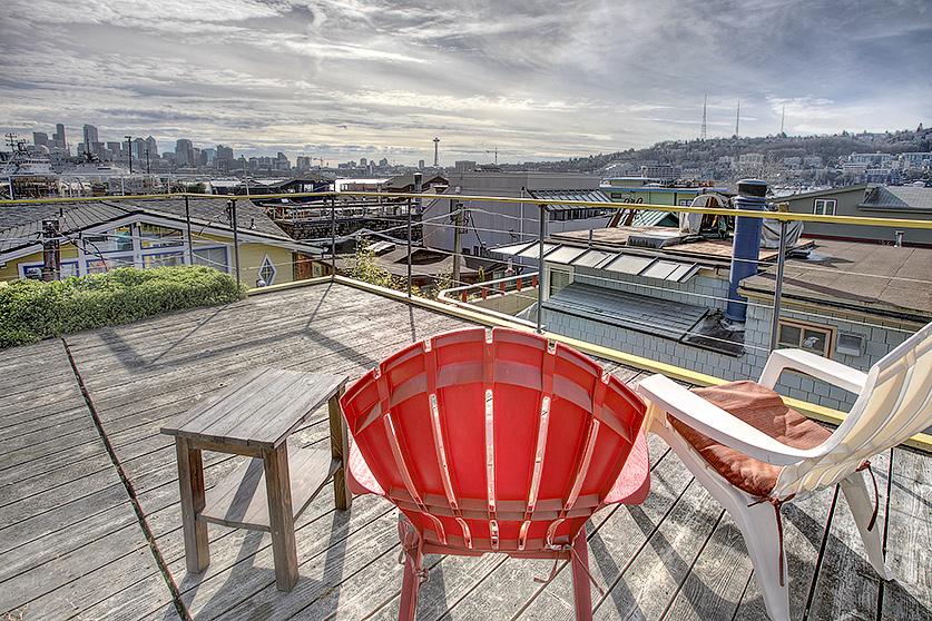 enjoy your roof top deck!